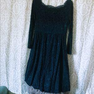 Apt 9 blue lace dress